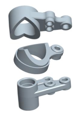 MODSTER Mini Cito: Servosaver Kunststoffteile