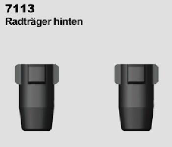 MODSTER Trembler: Radträger hinten (2)