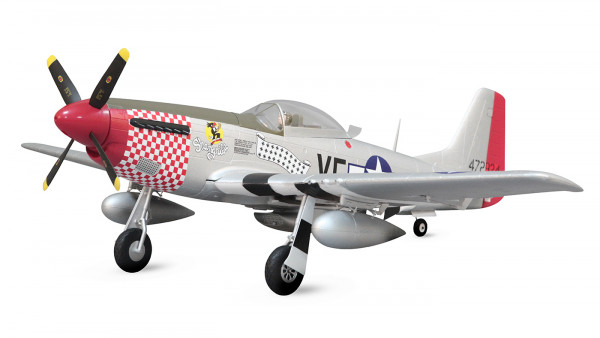 Arrows P-51 Mustang 1100mm Elektromotor Warbird PNP powered by MODSTER