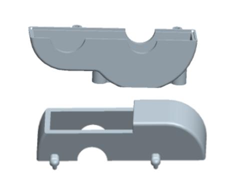 MODSTER Mini Cito: Getriebegehäuse
