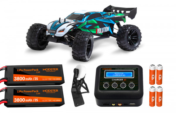 MODSTER Evolution Brushless - Extreme Combo