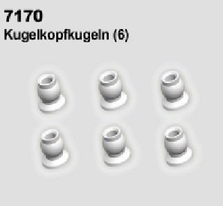 MODSTER Trembler: Kugelkopfkugeln (6)