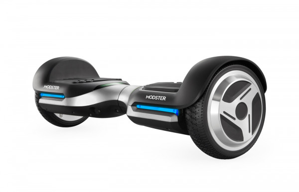 Two wheel board MODSTER HoverBoard Style S2 silber