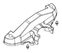MODSTER Dune Racer/Truggy: Getriebeabdeckung