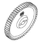 MODSTER Dune Racer/Truggy: Hauptzahnrad 55Z