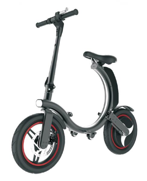 MODSTER M760 e-Bike 14 Zoll schwarz klappbar