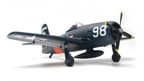 Arrows Grumman F8F Bearcat 1100mm Elektromotor Warbird PNP powered by MODSTER