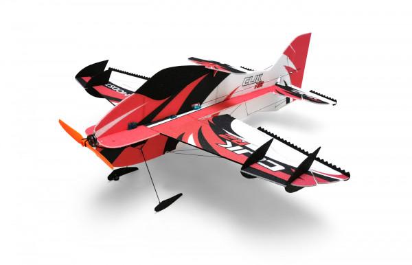MODSTER Clik R2 rot 840mm Elektromotor Slowflyer Kit