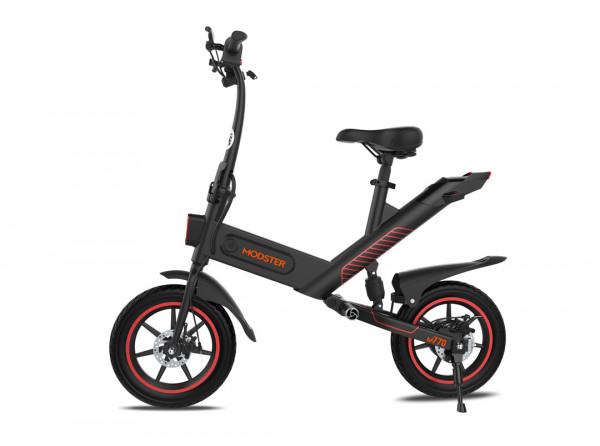 eScooter MODSTER M770 14 Zoll 350W 36V 6Ah schwarz teilweise klappbar