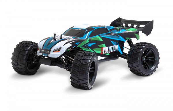 MODSTER Evolution Elektro Brushless Monster Truck 4WD 1:10 RTR